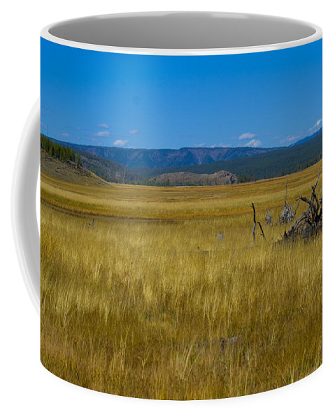Valley Coffee Mug featuring the photograph Fairy Falls Valley by Crystal Heitzman Renskers