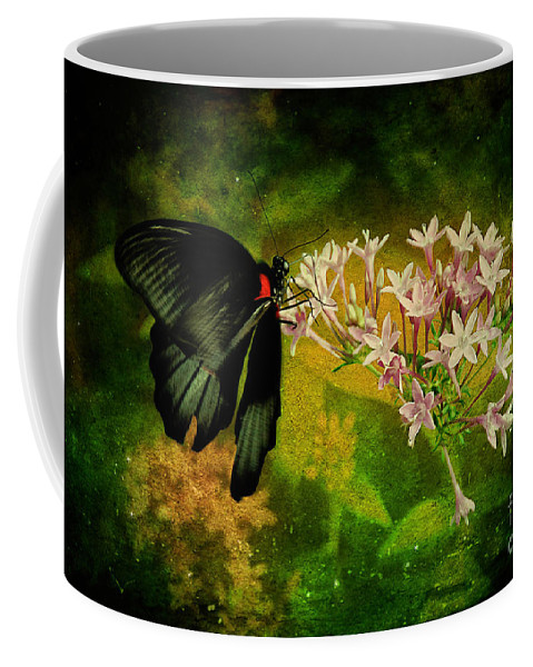 Butterfly Coffee Mug featuring the photograph Fairyland by Lois Bryan