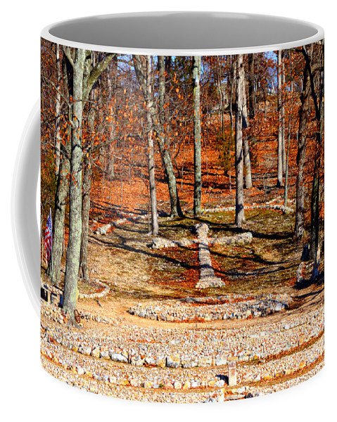 Landscape Coffee Mug featuring the photograph Faith And Freedom by Peggy Franz