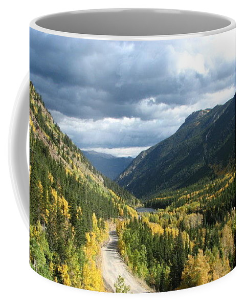 Colorado Coffee Mug featuring the photograph Fall On Guanella Pass by Kathy McCabe
