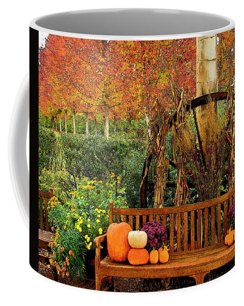 Fine Art Coffee Mug featuring the photograph Fall Serenity by Rodney Lee Williams
