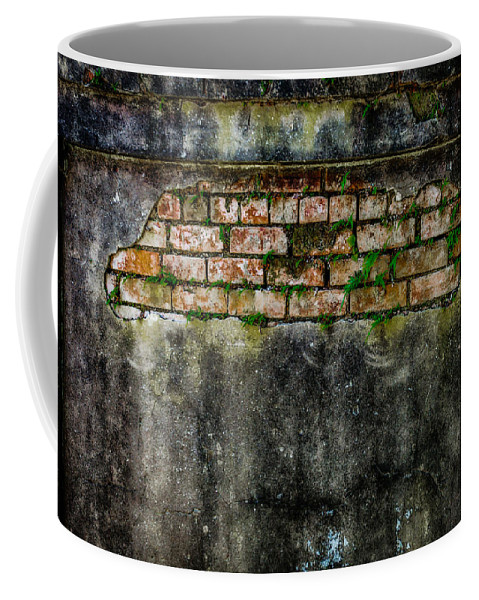 Nawlins Coffee Mug featuring the photograph Falling Apart by Melinda Ledsome