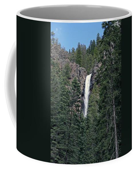 Waterfall Coffee Mug featuring the photograph Falls Creek by Shirley Roberson