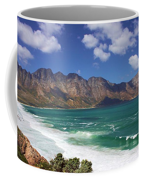 South Africa Coffee Mug featuring the photograph False Bay Drive by Jeremy Hayden