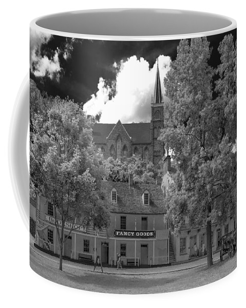 Civil War Coffee Mug featuring the photograph Fancy Goods by Guy Whiteley