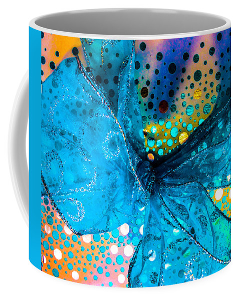 Optical Playground By Mp Ray Coffee Mug featuring the photograph Fancy Wrapping Iv by Optical Playground By MP Ray