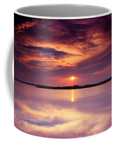 Abstract Coffee Mug featuring the photograph Fantasea by Pete Federico