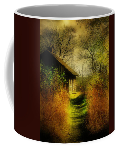 Landscape Coffee Mug featuring the photograph Far Away by John Anderson