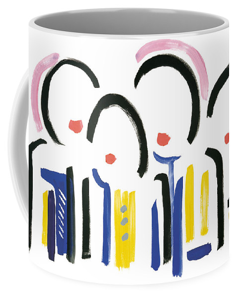 Contemporary Coffee Mug featuring the painting Farewell Viet Nam by Bjorn Sjogren