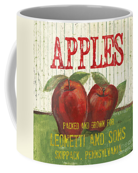 Food Coffee Mug featuring the painting Farm Fresh Fruit 3 by Debbie DeWitt
