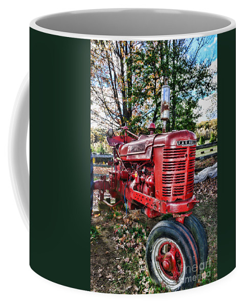 Paul Ward Coffee Mug featuring the photograph Farmers Tractor by Paul Ward