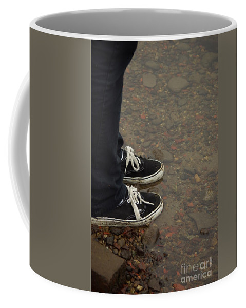 Fashion Coffee Mug featuring the photograph Fashion Meets Nature by Cindy Johnston