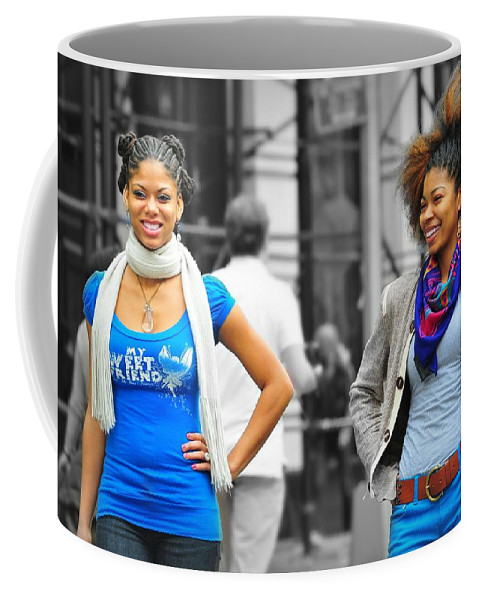 Models Coffee Mug featuring the photograph Fashion Shoot by Diana Angstadt