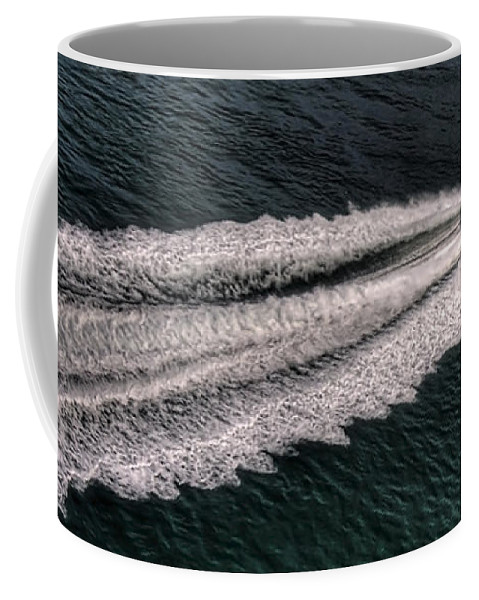 Pier Coffee Mug featuring the photograph Fast And Furious by Svetlana Sewell