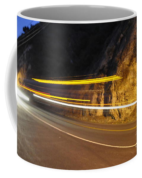 Fast Coffee Mug featuring the photograph Fast Car by Gandz Photography