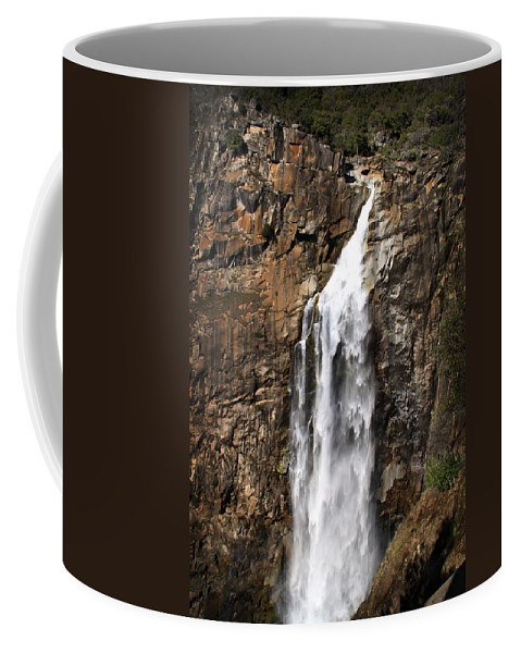 Waterfalls Coffee Mug featuring the photograph Feather Falls by Shawn McMillan