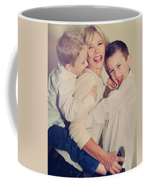 People Coffee Mug featuring the photograph Feel The Joy by Laurie Search