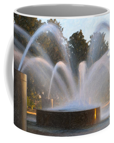 Charleston Coffee Mug featuring the photograph Feel The Mist by Dale Powell
