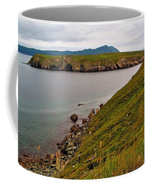 Ferryland Head Coffee Mug featuring the photograph Ferryland Head-nl by Ruth Hager