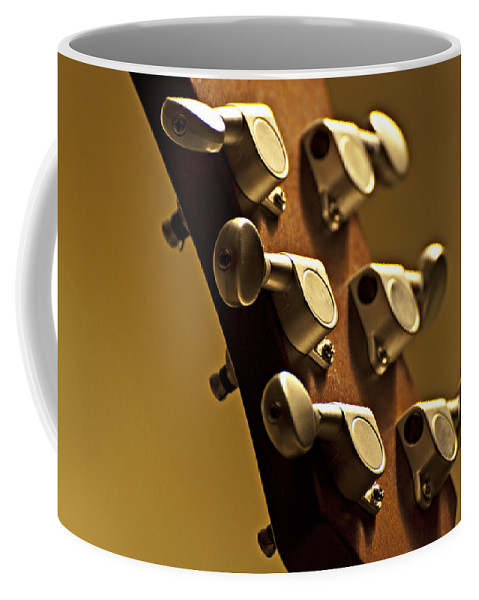 Finely Tuned Coffee Mug featuring the photograph Finely Tuned by Christopher Gaston