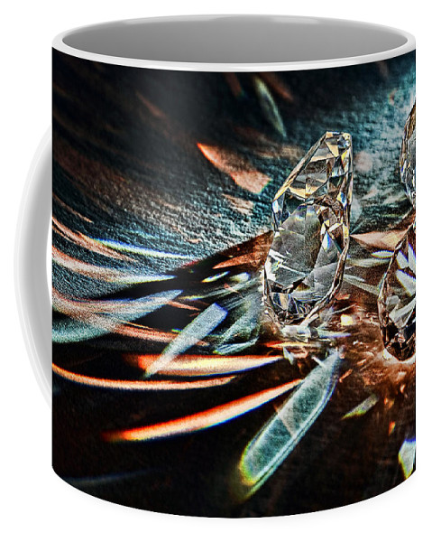 Bling Coffee Mug featuring the photograph Fire And Ice by Marcia Colelli