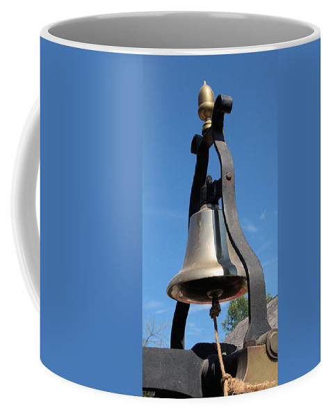 Fire Engine Coffee Mug featuring the photograph Fire Engine Bell by Valerie Kirkwood
