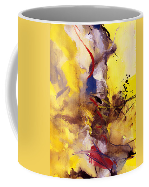 Christianity Coffee Mug featuring the painting Fire Smoke And Brimstone II by Ruth Palmer