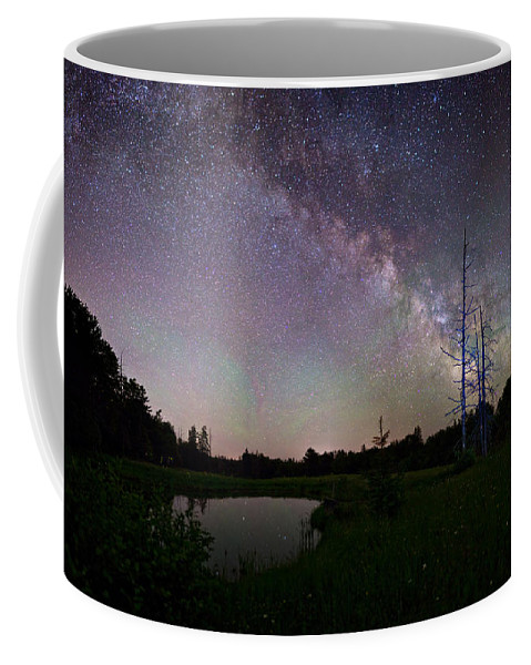Fireflies Coffee Mug featuring the photograph Fireflies Under The Stars by Brent L Ander