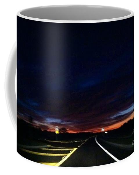 Paradise Coffee Mug featuring the photograph First Light by Melissa Darnell Glowacki