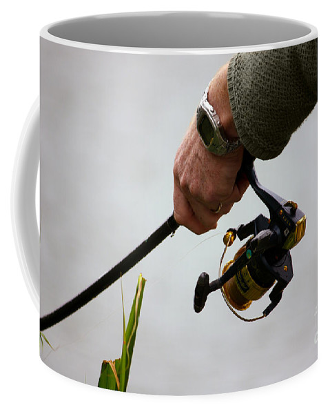 Fishing Coffee Mug featuring the photograph Fishing Time by Terri Waters