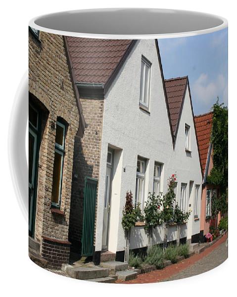 Fishingvillage Coffee Mug featuring the photograph Fishingvillage Holm by Christiane Schulze Art And Photography