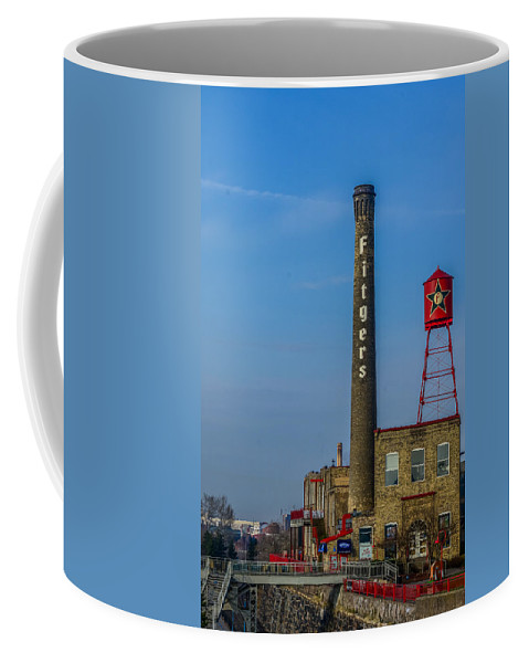 Fitgers Coffee Mug featuring the photograph Fitgers Hotel And Brewery by Paul Freidlund