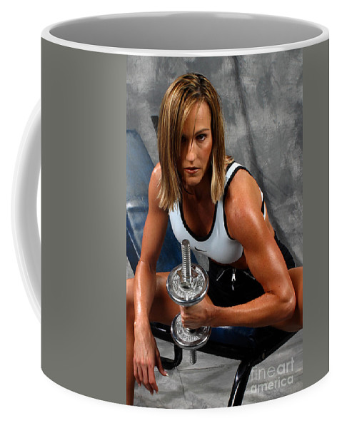 Model Coffee Mug featuring the photograph Fitness 27-2 by Gary Gingrich Galleries
