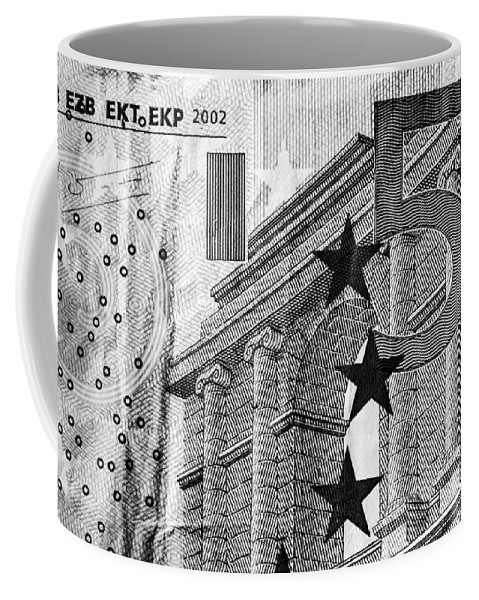 Europe Coffee Mug featuring the photograph Five Euro by Semmick Photo