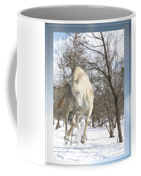 Winter Coffee Mug featuring the photograph Flaming Enthusiasm by Patricia Keller