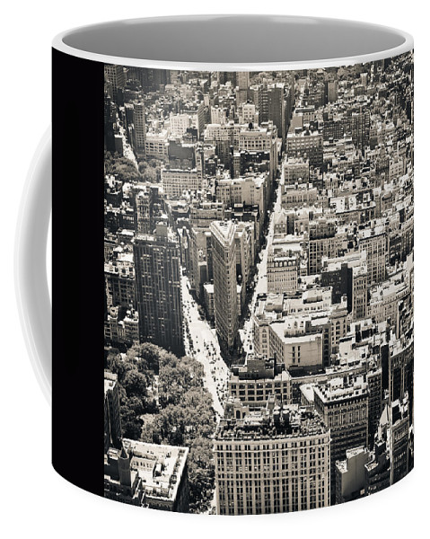 Nyc Coffee Mug featuring the photograph Flatiron Building - New York City by Thomas Richter