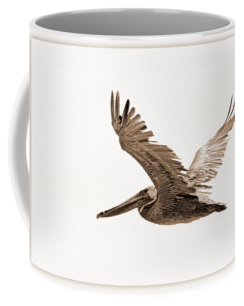 Birds Coffee Mug featuring the photograph Flight by AJ Schibig
