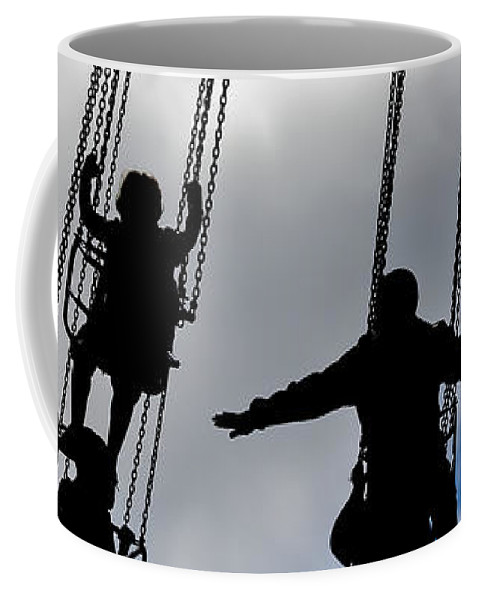 Ride Coffee Mug featuring the photograph Flight by Caitlyn Grasso