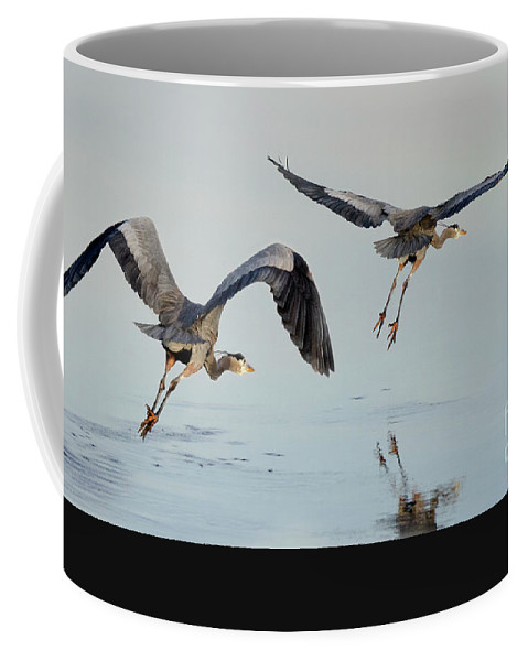 Propeller Coffee Mug featuring the photograph Propped Up by Bob Christopher