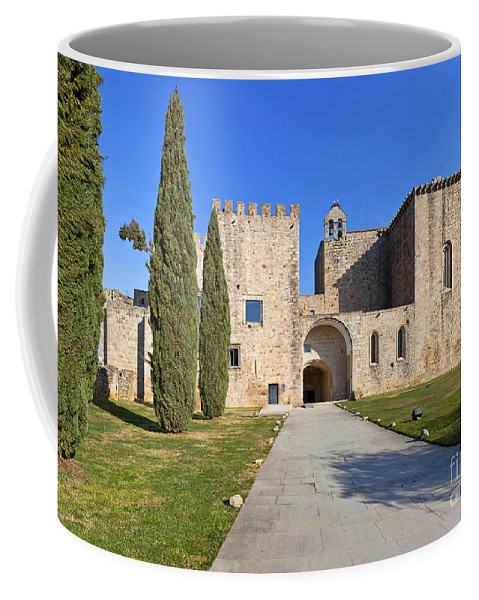 Monastery Coffee Mug featuring the photograph Flor Da Rosa Monastery by Jose Elias - Sofia Pereira