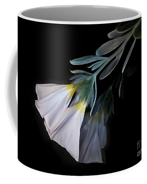 Photography Coffee Mug featuring the photograph Floral Reflections 3 by Kaye Menner
