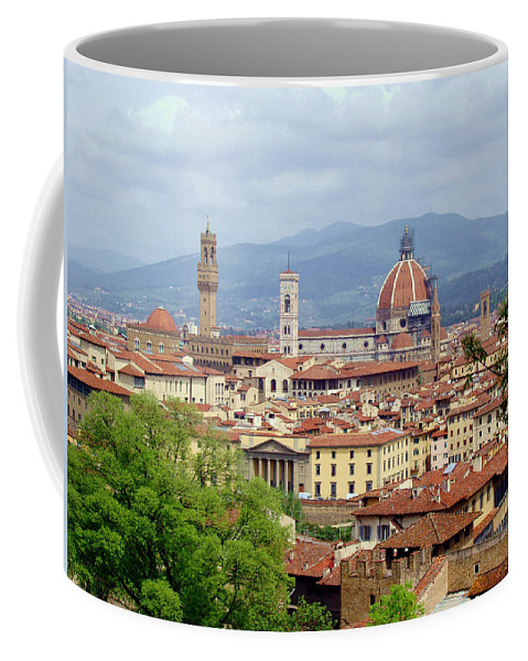 Florence Coffee Mug featuring the photograph Florence by Ellen Henneke