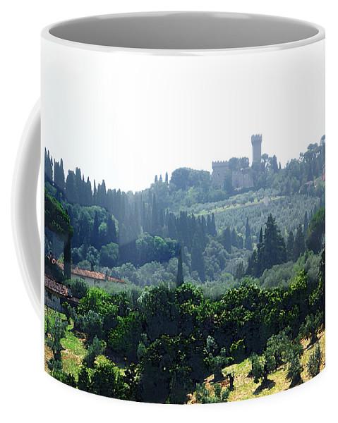 Italy Coffee Mug featuring the photograph Florence Landscape by Irina Sztukowski
