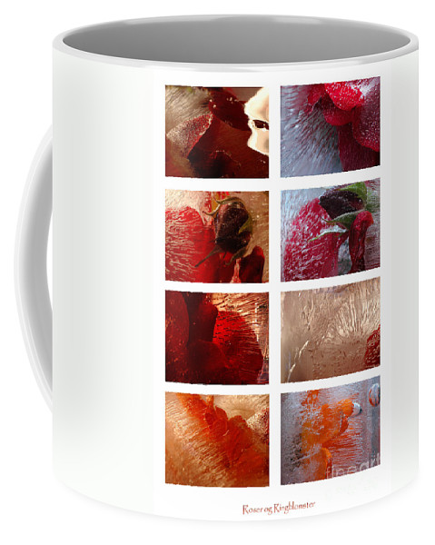 Flowers Coffee Mug featuring the photograph Flower Collage Vertical by Randi Grace Nilsberg