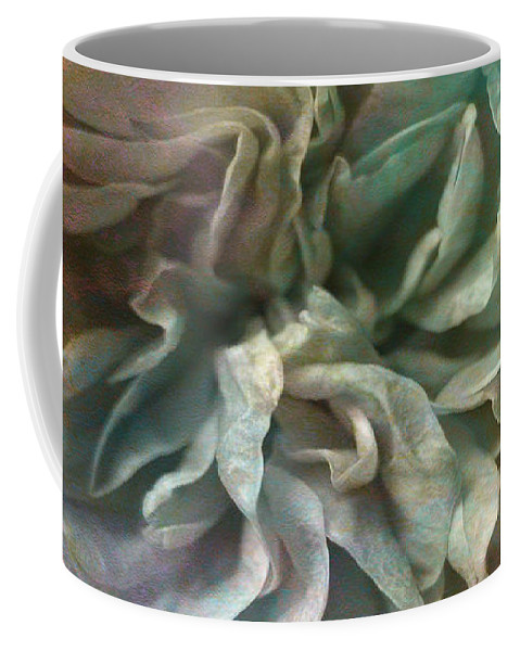 Abstract Art Of Flower Coffee Mug featuring the digital art Flower Dance - Abstract Art by Jaison Cianelli