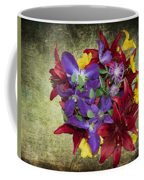 Quincy Illinois Coffee Mug featuring the photograph Flower - Garden Joy - Luther Fine Art by Luther Fine Art