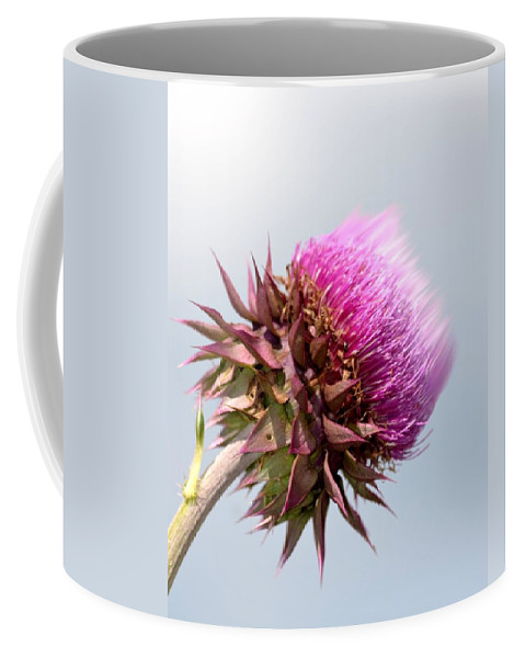 Flower Massage Coffee Mug featuring the photograph Flower Massage by Maria Urso