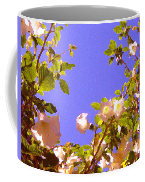 Landscapes Coffee Mug featuring the painting Flowering Tree 2 by Amy Vangsgard
