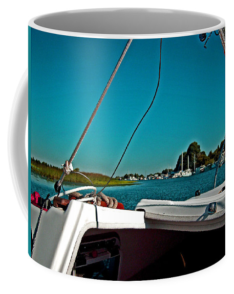 The Story Of Joe And Floyd Coffee Mug featuring the photograph Floyd And The Potato Slough by Joseph Coulombe