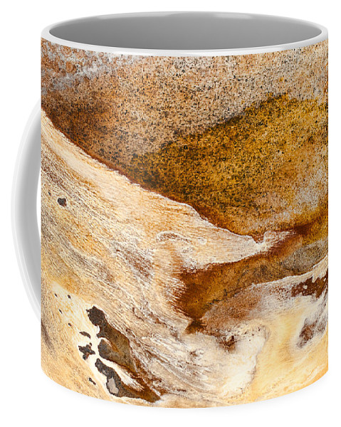Abstract Coffee Mug featuring the photograph Fluid by Fran Riley